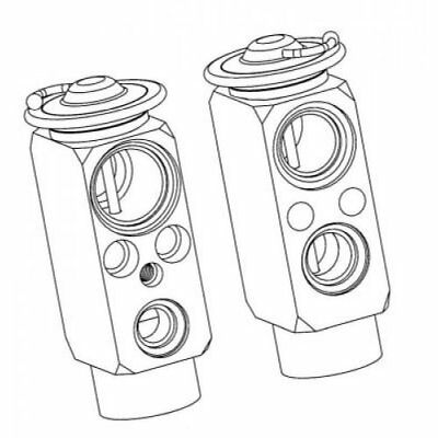 NRF Expansion Valve, Air Conditioning 38359