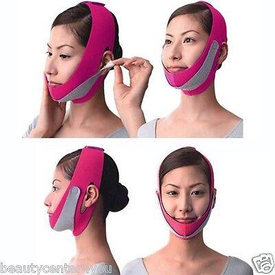 NEW!! Anti Wrinkle Half Face Slimming Cheek Mask Lift V Face Line Belt - V Mask