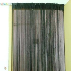 Room divider screens curtains and bamboo ebay for Hanging bamboo privacy screen