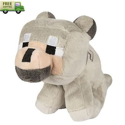 Minecraft JINX Soft Plush Stuffed Animal Wolf Toy For Kids best Gift