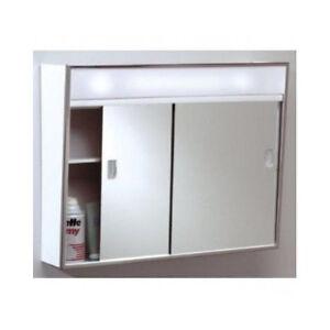 Medicine Cabinet With Lights Ebay