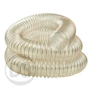 Flexible-Ducting-Hose-PU-Fume-Woodworking-Dust-Extraction-50mm-200mm-Dia