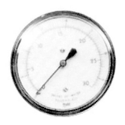 Gauge Gas Pressure 0 To 15 Wc 2-12 Dia For Nieco Broiler Oem 16036 621105