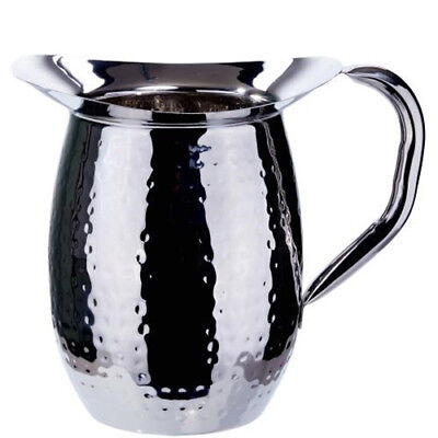 3 Quart Bell (Winco WPB-3H, 3-Quart Hammered Bell Pitcher, Stainless Steel (12 Piece) )