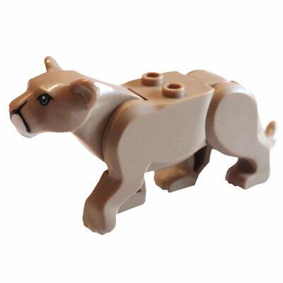 New Sealed Mountain Lion Cat Jungle Dark Tan Puma City 60174 Lego Animal