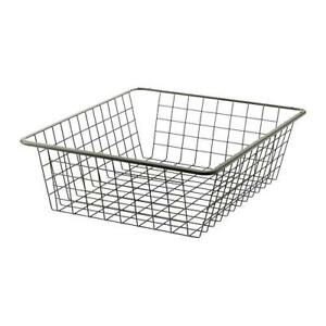 Ikea Antonius Silver Wire Basket