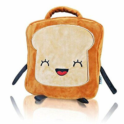 CZYY Insulated Lunch Bag Tote Cute Toast Design, Washable and Freezable Best