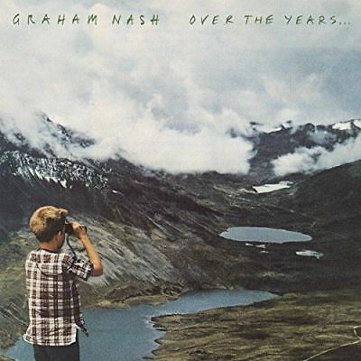 GRAHAM NASH OVER THE YEARS 2 LP VINYL (Greatest Hits) Released August 31st 2018