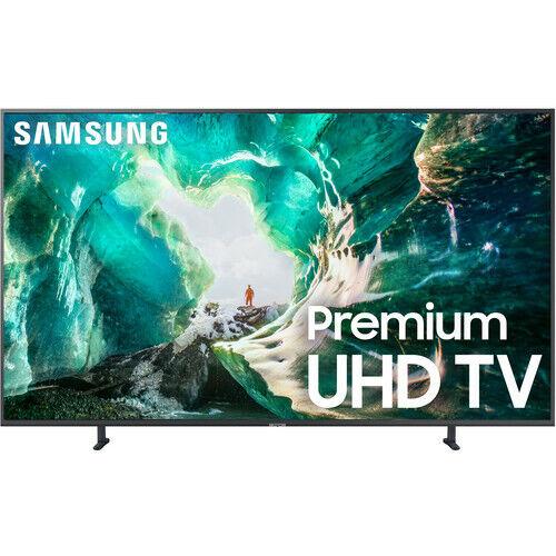 "Samsung UN82RU8000 82"" RU8000 Titan Gray 4K UHD Smart HDTV - UN82RU8000FXZA"