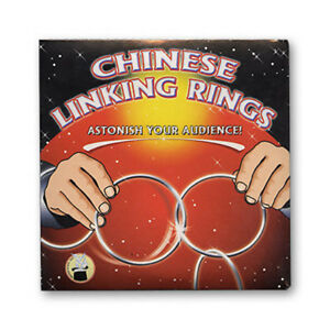 Chinese Linking Rings (5 inch) by Vincenzo Di Fatta