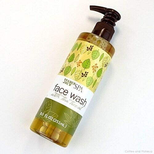 Trader Joe's SPA Face Wash with Tea Tree Oil 8.5 oz