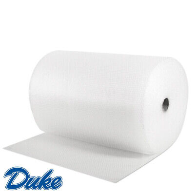 2 x 100m x 750mm Wide SMALL BUBBLE WRAP ROLLS for Storage