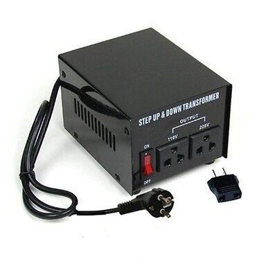 500w Watt Voltage Converter Transformer 110<->220 Volt
