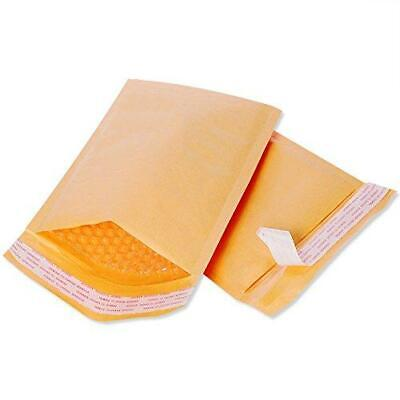 Small Padded Envelopes 3x5 - Pack Of 20 - Bubble Yellow Kraft Bag Mailers -