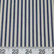 Navy Stripe Fabric