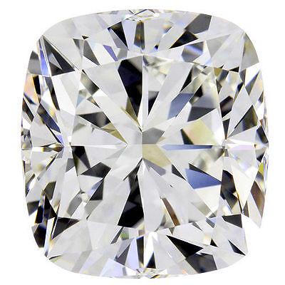 1.51 carat Cushion cut Diamond GIA report H color VVS2 clarity excellent loose