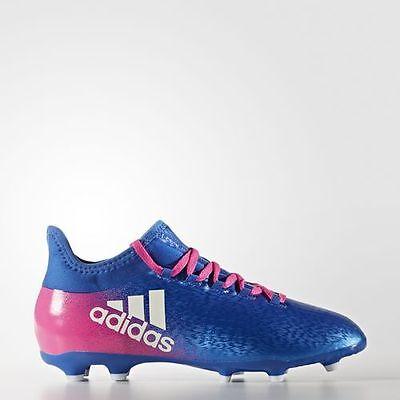PRO TOP Kinder Fußballschuh adidas X 16.1 J FG BB5692 blau-weiß-pink
