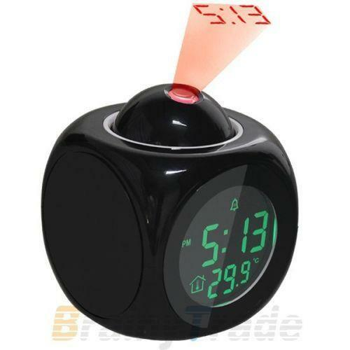 battery powered alarm clock ebay. Black Bedroom Furniture Sets. Home Design Ideas