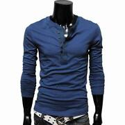 Mens Long Sleeve T Shirts