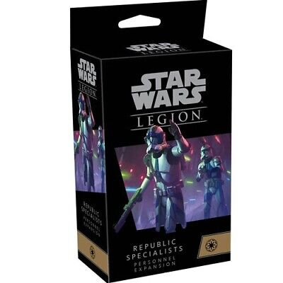 Republic Specialists Personnel Expansion Star Wars: Legion FFG NIB SHIPS 2/19