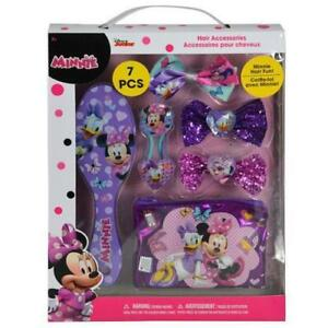 Disney Minnie Mouse Hair Accessories in Box Perfect for Girls Li
