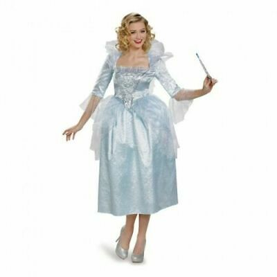LICENSED DISNEY CINDERELLA FAIRY GODMOTHER ADULT HALLOWEEN COSTUME WOMEN'S LARGE](Fairy Godmother Halloween)