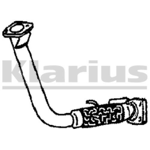 1x KLARIUS OE Quality Replacement Exhaust Pipe Exhaust For ROVER Diesel