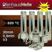 Edelstahlschornstein 200