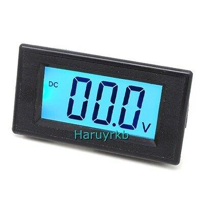 3 Dc 0-20v Blue Lcd Digital Volt Panel Meter Voltmeter 19.99v Power Supply 12v