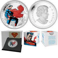 2013 'Superman Stands Guard' Colorized Proof $20 Silver Coin 1oz