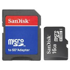 New SanDisk Class4 16GB Micro SD Micro SDHC TF Flash Memory Card 16 GB G 16G