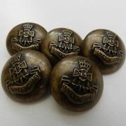Silver Military Buttons