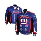 New York Giants Super Bowl Jacket