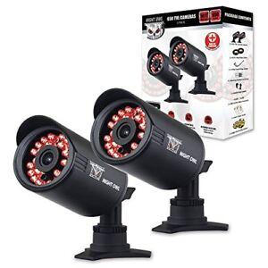 Night Owl Security CAM-2PK-650 Indoor/Outdoor 650 TVL Security B