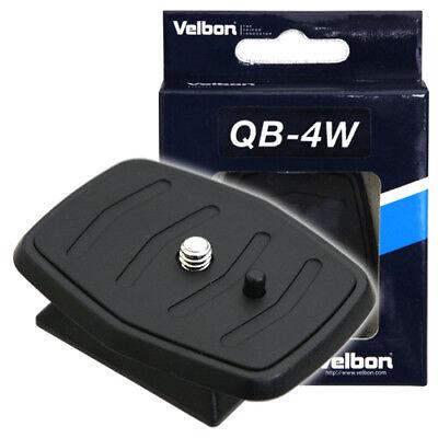 Velbon Quick Release Plate QB-4W /Sony VCT-D580RM D680RM R640 CX-444 460mini etc