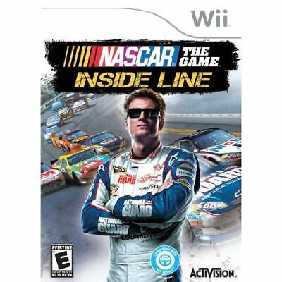 NASCAR The Game: Inside Line For Wii Racing Very Good 2E ()