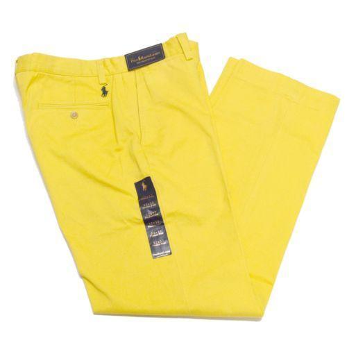 Yellow Polo Pants Ebay