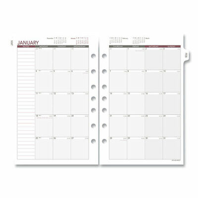 At-a-glance 061-685y-09 Monthly Planning Pages 8.5 X 5.5 2021 061685y09