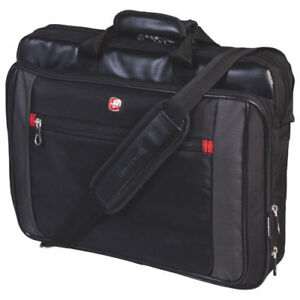 SwissGear 17.3 inch top load Laptop Bag SWA0586L Black GENUINE