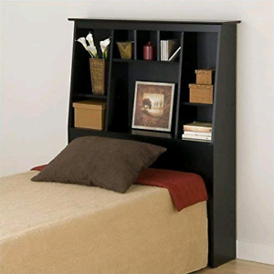 Twin bed slant back bookcase