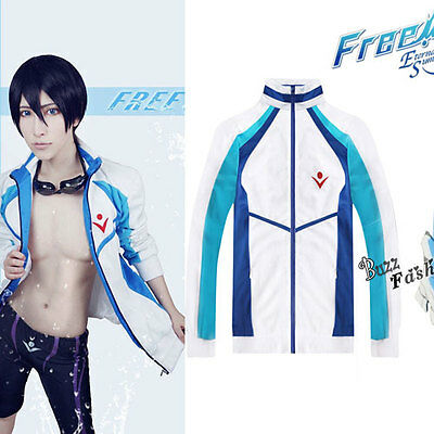 Costume Cosplay Free! Haruka Nanase Oberseit Sportjacke Teen boys Anime Jacke ()