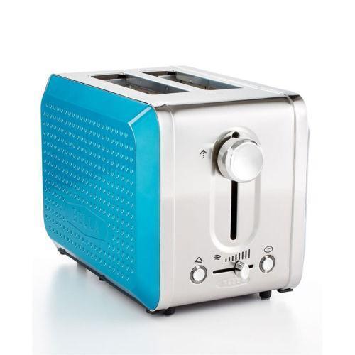 Oster 2 Slice Toaster Metallic Turquoise: Blue Toaster