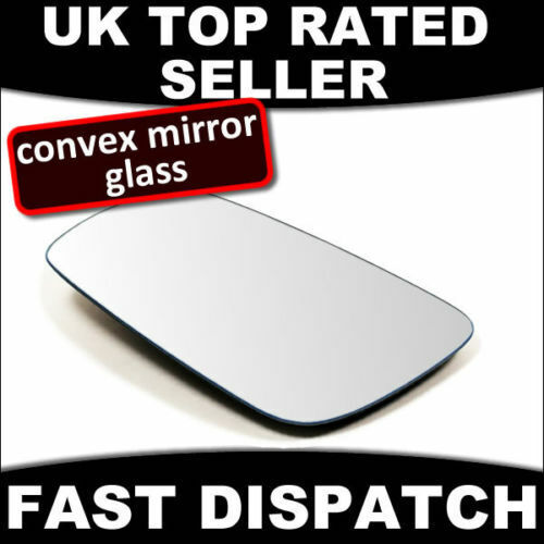MIRROR GLASS TO FIT Audi A3 2003-2007, A4 2000-2007, A6 2005-2007 Driver Side RH