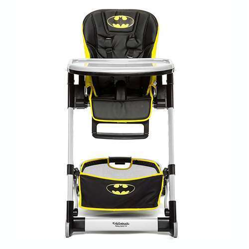 Kids Embrace DC Comics Batman Deluxe Baby High Chair Toddler Booster (Open Box)