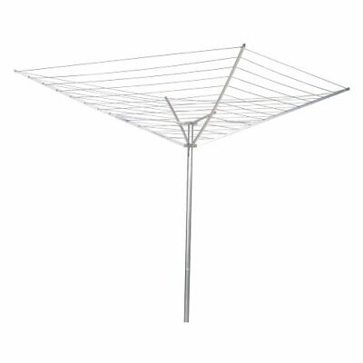 Collapsible 12-Line Clothesline Outdoor Drying Rack - Hang W