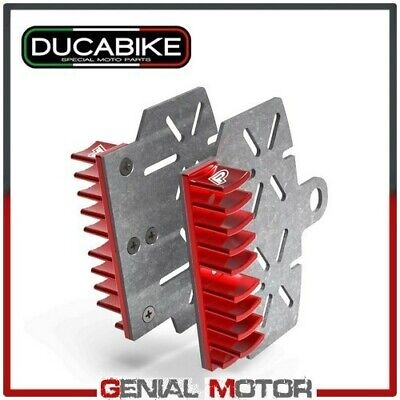 Brake Plate Heat Sink Red BPR05A Ducabike Ducati Scrambler Italia Ind U 2016