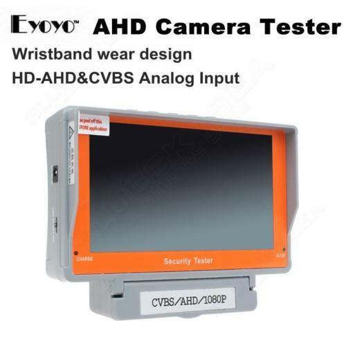 "5"" Wrist AHD CCTV Tester Analog NTSC / AHD PAL Camera Tester Monitor EYOYO"