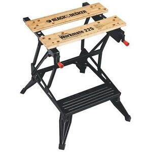 black&decker workmate wm225 Portable Project Center and Vise le gros modele neuffffffff