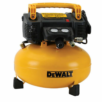 DEWALT 0.9 HP 6 Gallon Oil-Free Pancake Air Compressor DWFP55126R
