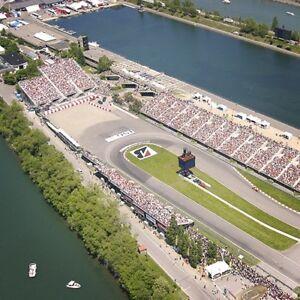 Billets Formule 1 (8, 9 & 10 juin 2018)